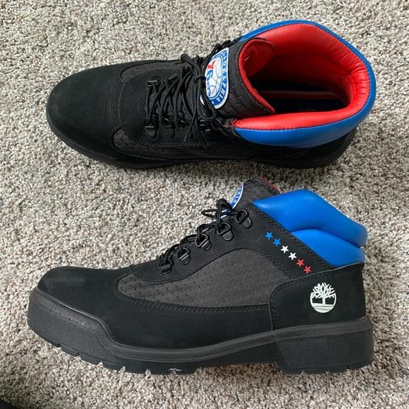 Nba 76ers Sixers Field Boots Nice